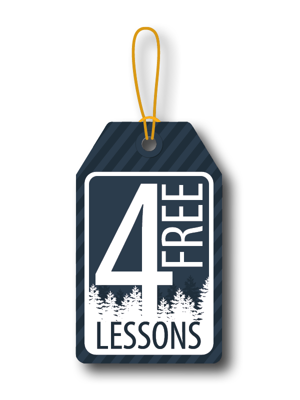 4 Free Music Lessons with Instrument Purchase